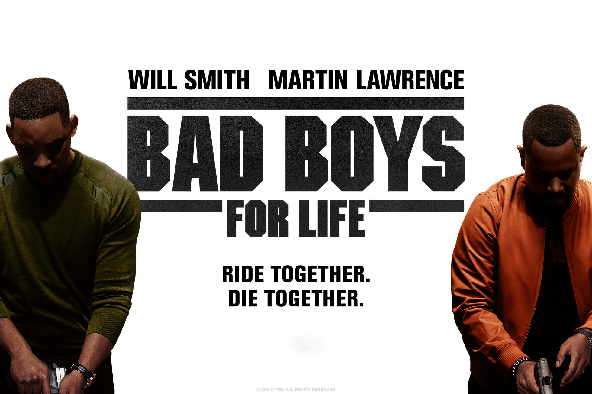 'Bad Boys for Life' - landscape artwork