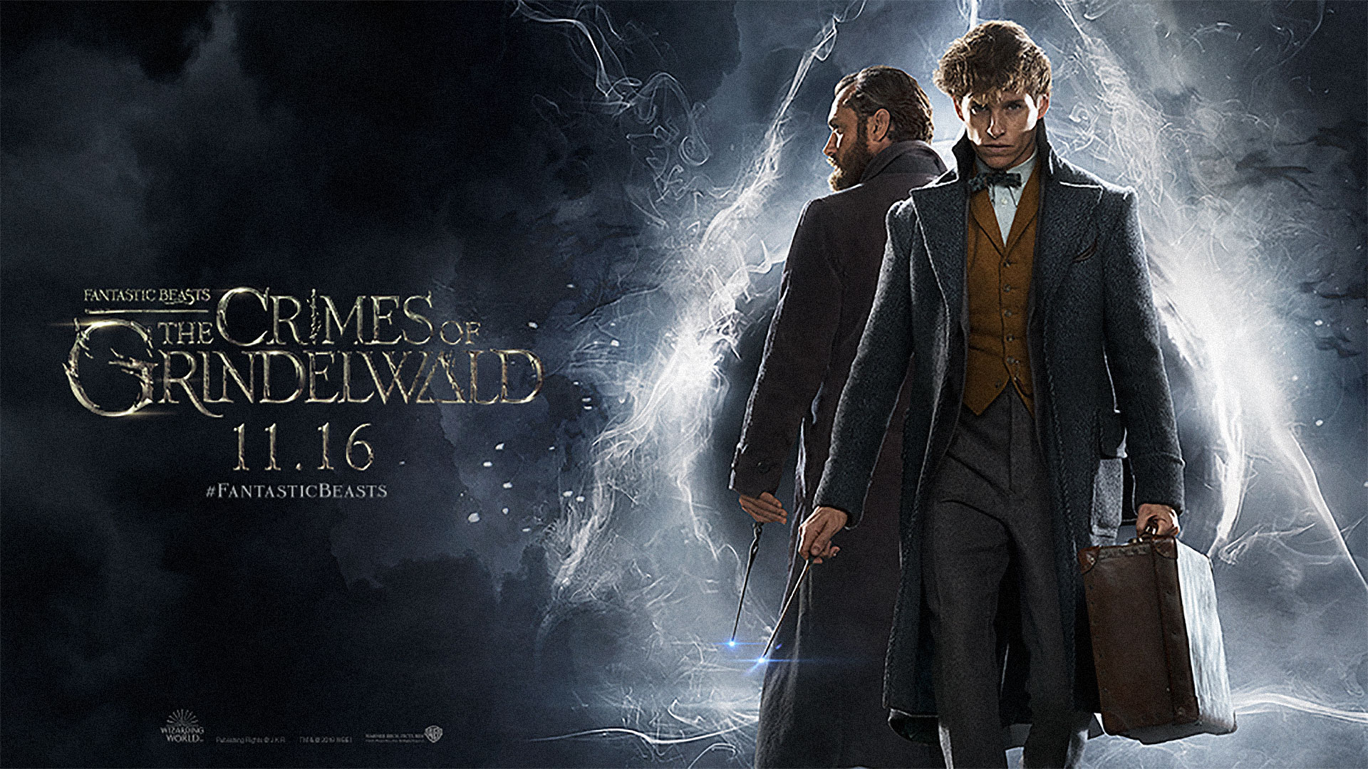 'Fantastic Beasts: The Crimes of Grindelwald' - landscape artwork