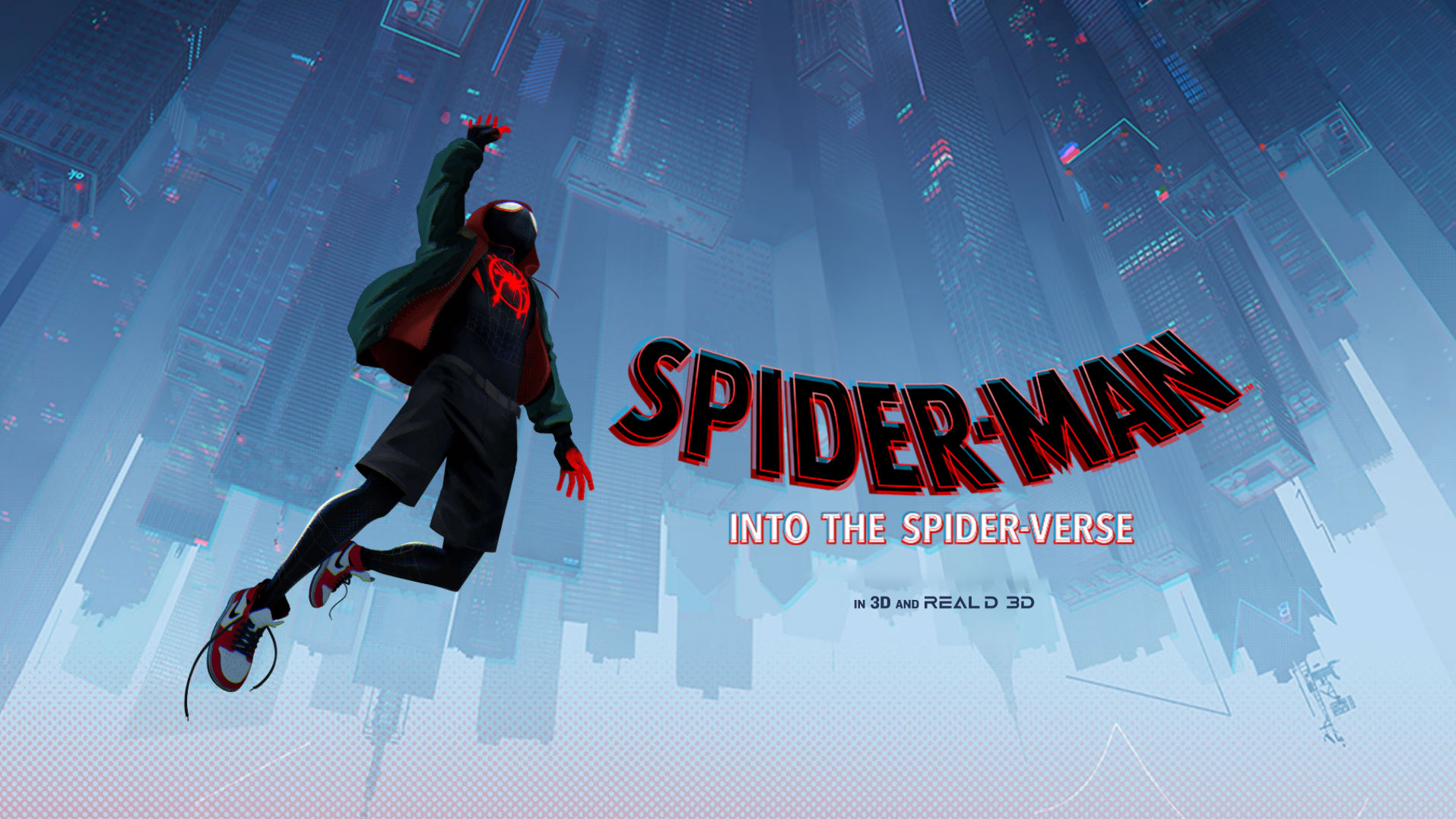 'Spider-Man™: Into the Spider-Verse' - landscape artwork