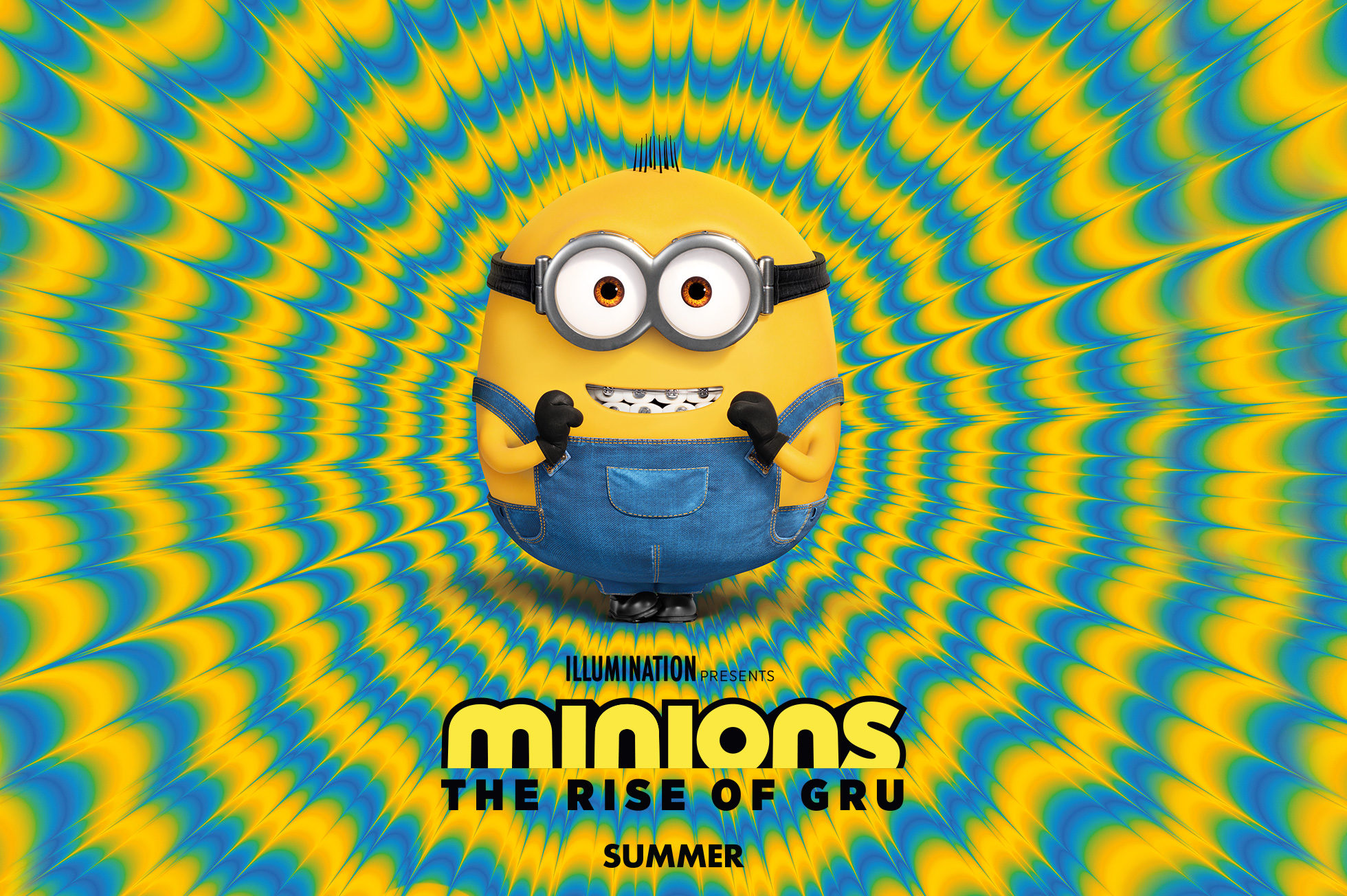 'Minions: The Rise of Gru' - landscape artwork