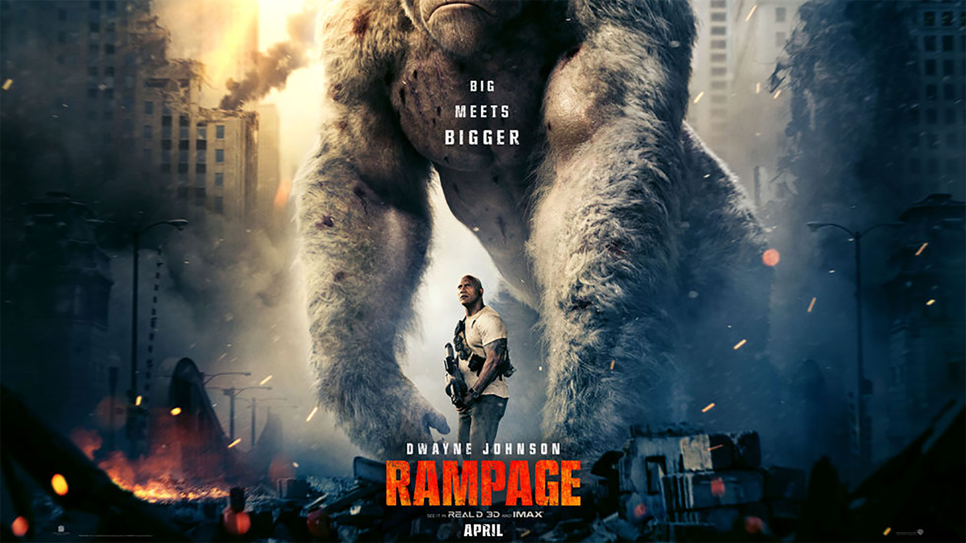 'Rampage' - landscape artwork