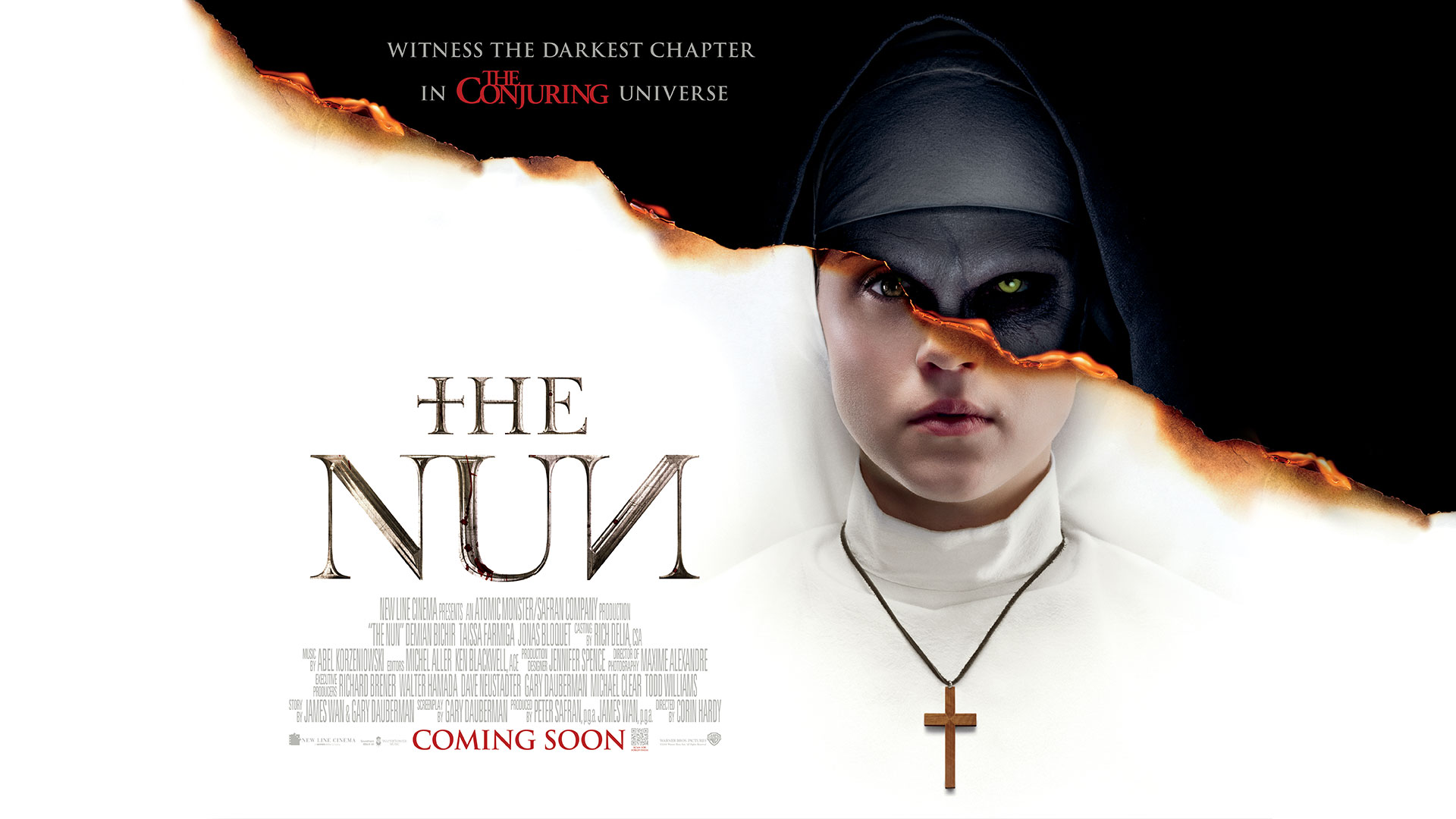 'Nun, The' - landscape artwork