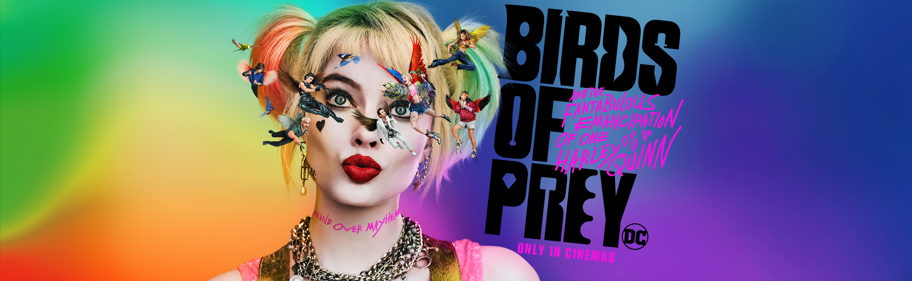 'Birds of Prey (and the Fantabulous Emancipation of One Harley Quinn)' - landscape artwork