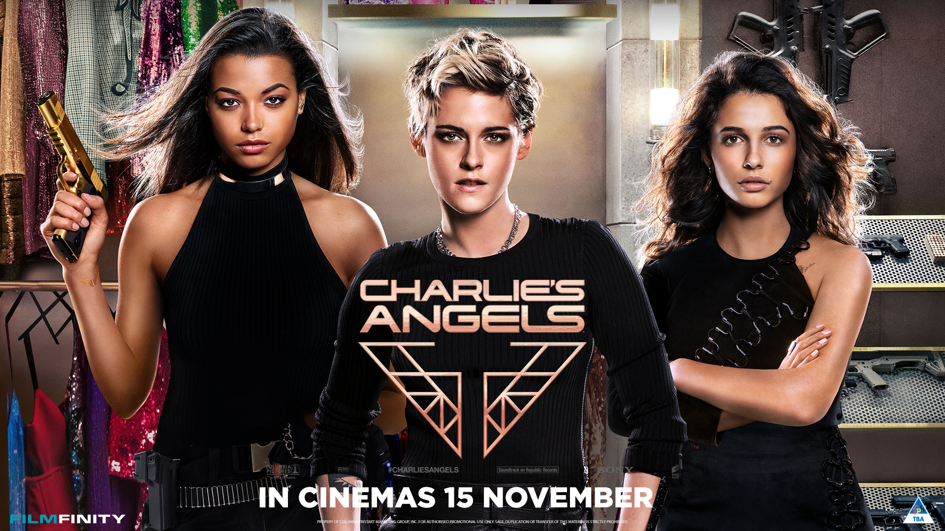'Charlie's Angels' - landscape artwork