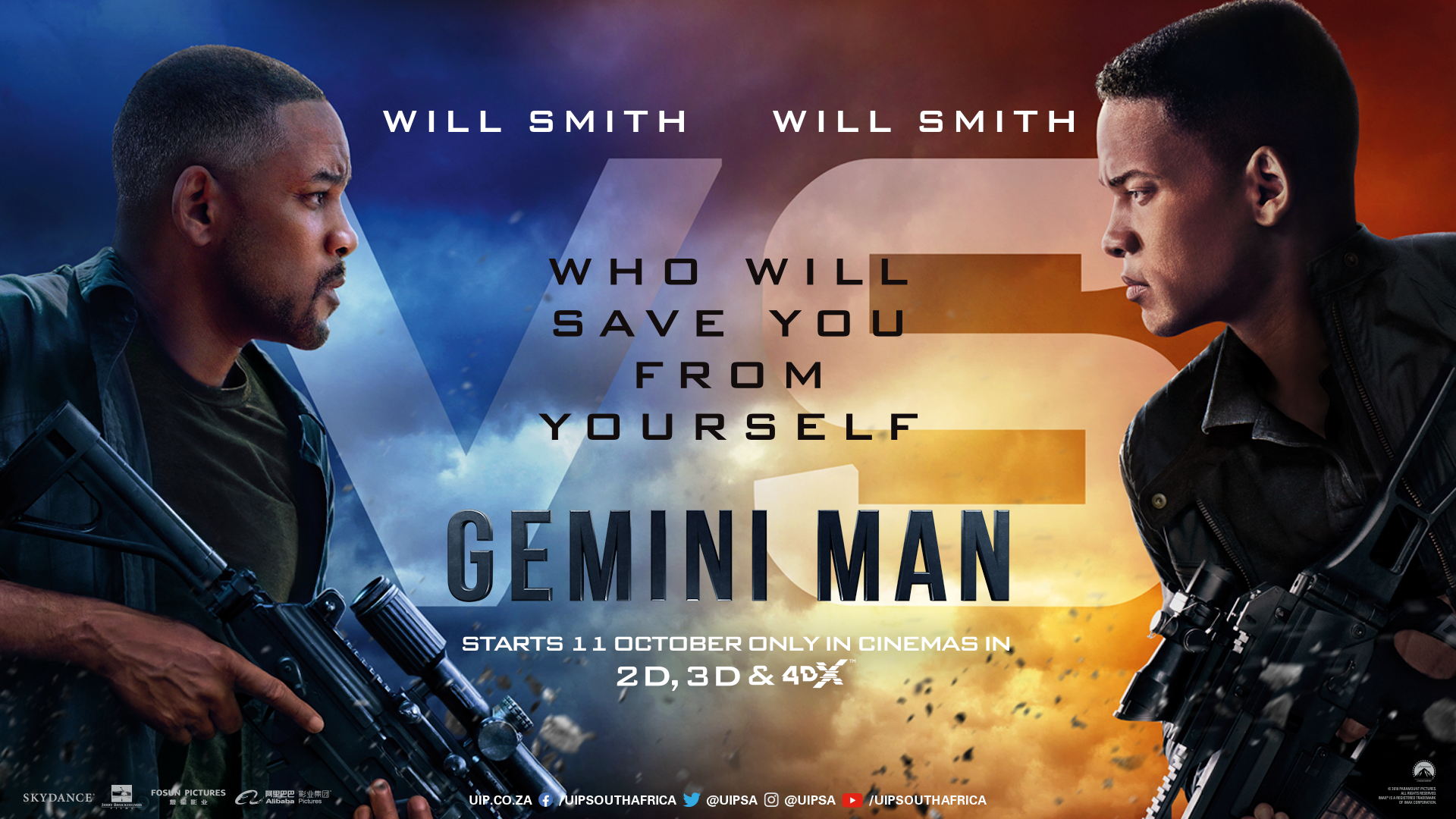 'Gemini Man' - landscape artwork