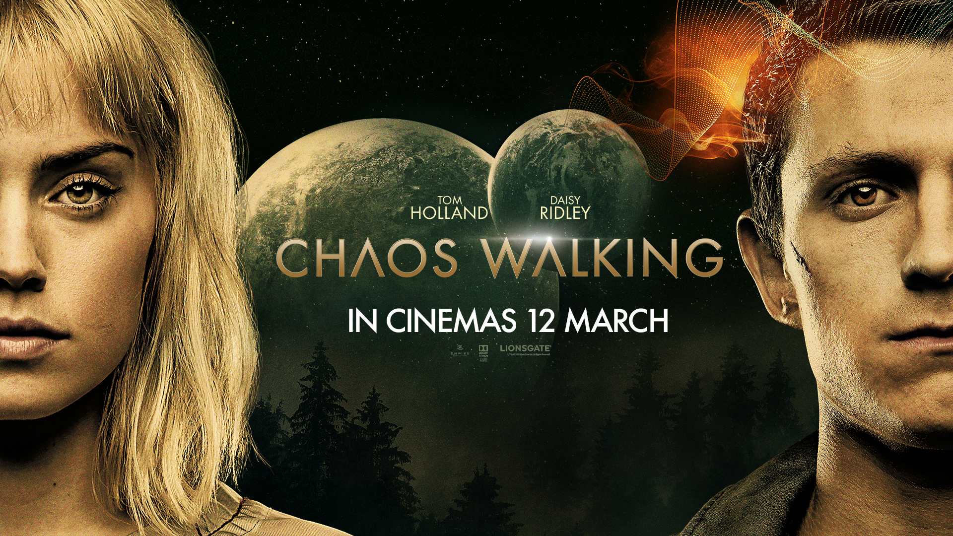 'Chaos Walking' - landscape artwork