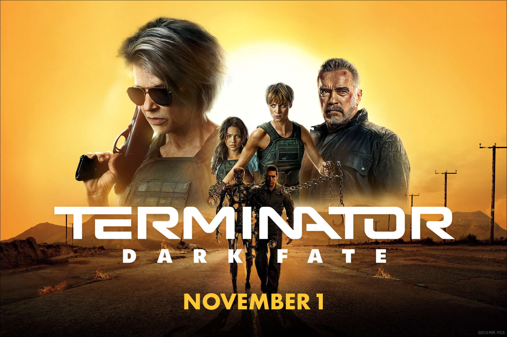 'Terminator: Dark Fate' - landscape artwork