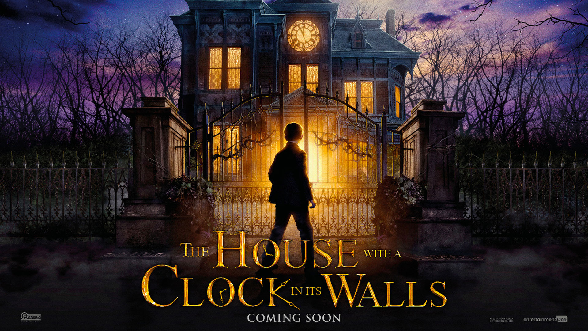 'House with a Clock in Its Walls, The' - landscape artwork