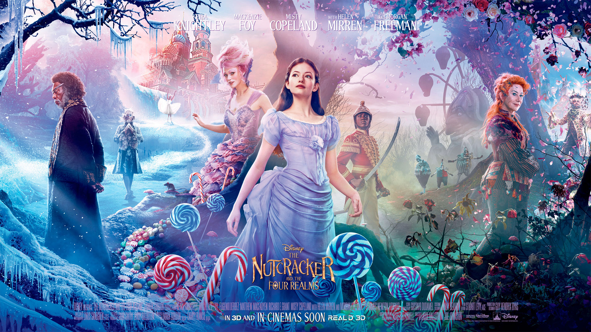 'Nutcracker and the Four Realms, The' - landscape artwork
