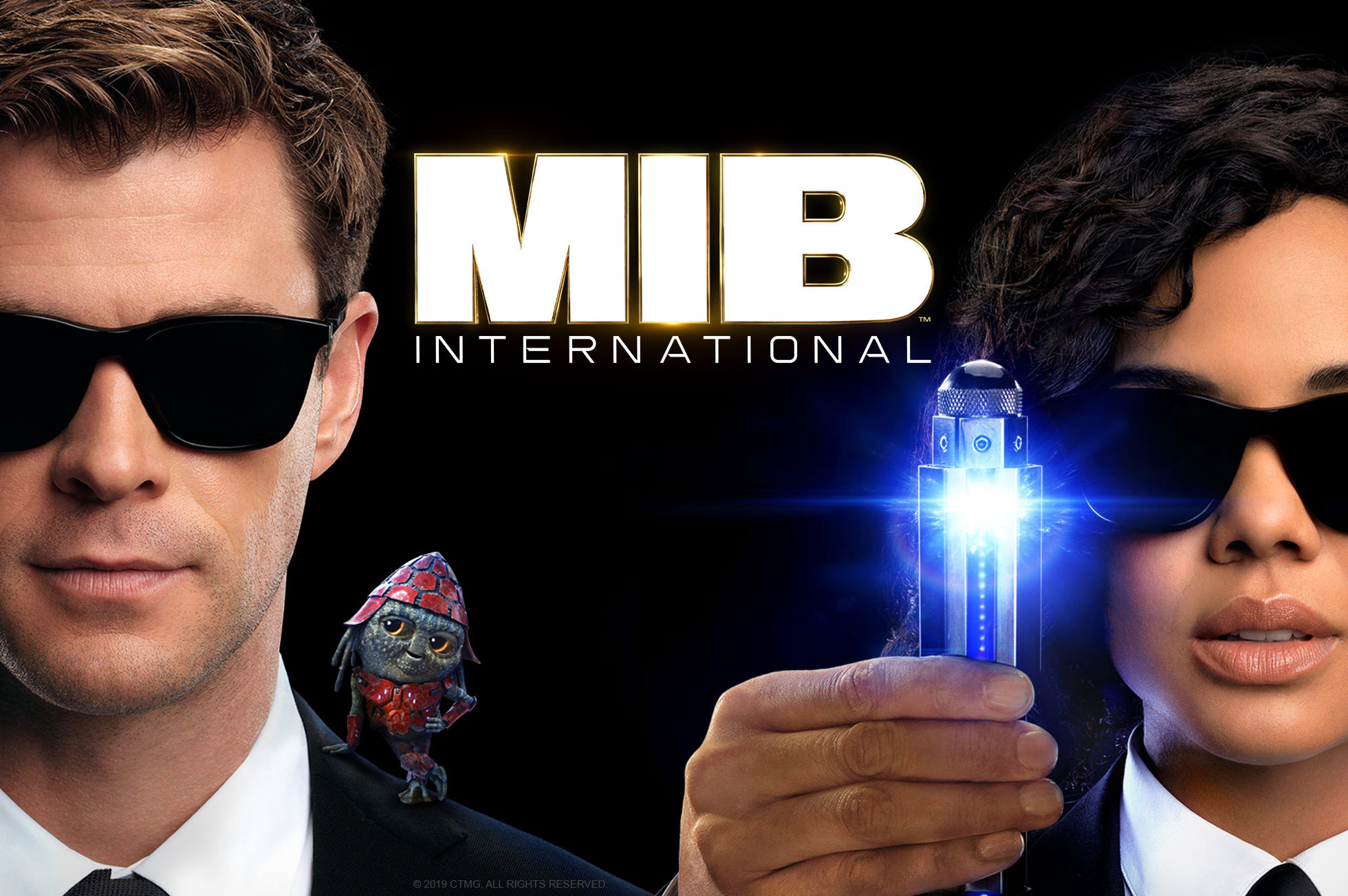 'Men in Black™: International' - landscape artwork