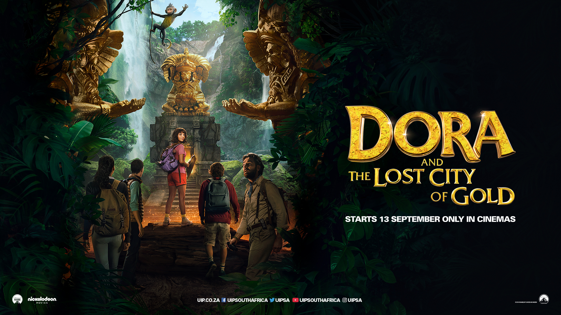 'Dora and the Lost City of Gold' - landscape artwork