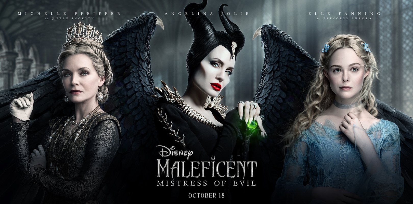 'Maleficent: Mistress of Evil' - landscape artwork