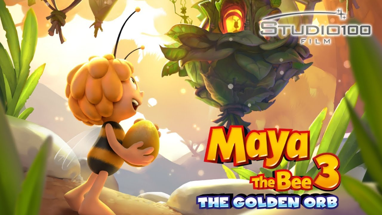 'Maya the Bee 3: The Golden Orb' - landscape artwork