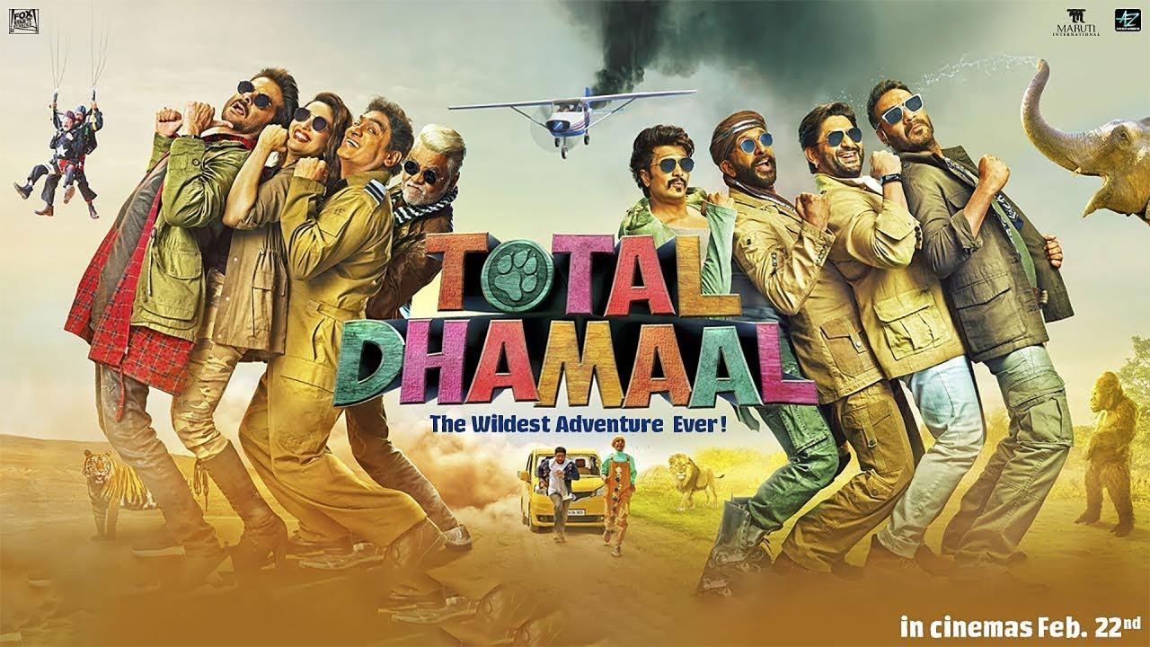 'Total Dhamaal' landscape poster
